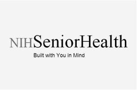 NIH Senior Health Logo